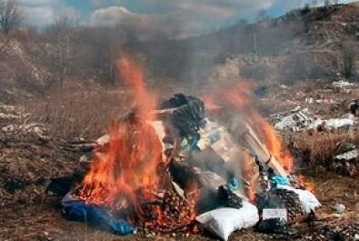 Ніжинська мерія просить ніжинців не палити листя і сміття