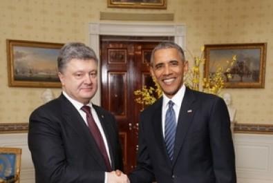 Україна та США розвинуть стратегічне партнерство – зустріч Президентів Порошенка та Обами