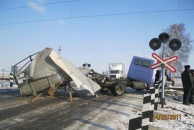 Залізничники Столичної магістралі проводять серед водіїв профілактичні заходи щодо недопущення ДТП на переїздах