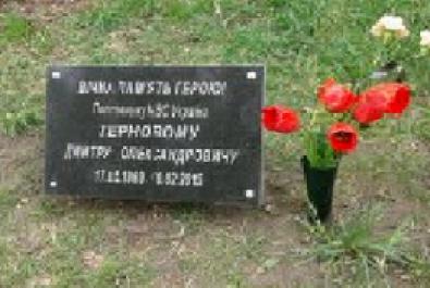 Податківці віддали шану подвигу героя Дмитра Тернового
