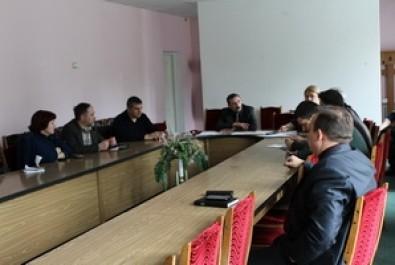 Засідання робочої групи по встановленню пам`яток видатним діячам Ніжина