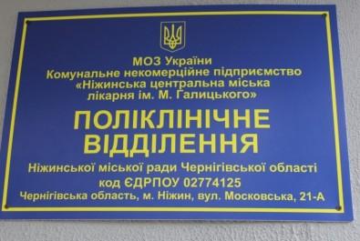 КНП «Ніжинська ЦМЛ ім. М. Галицького» надає щоденну інформацію станом на 23.03.2020 року