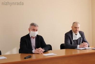 Відбулася зустріч міського голови з лікарями Ніжинської центральної міської лікарні ім. М. Галицького