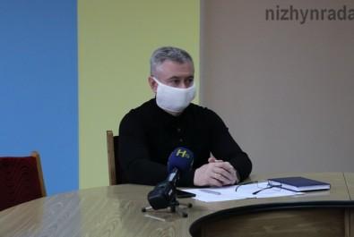 Міський голова наголосив на дотриманні карантинного режиму громадянами Ніжинської громади