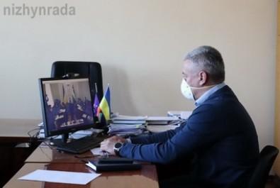 Міський голова Анатолій Лінник взяв участь у селекторній нараді