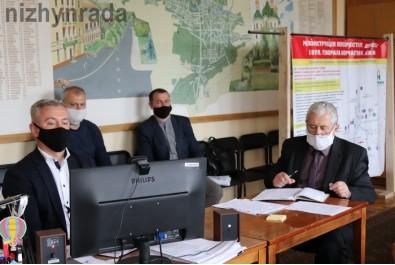 Міський голова Анатолій Лінник взяв участь у електронній нараді по проекту «Велике будівництво»