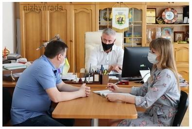 Міський голова Анатолій Лінник провів особистий прийом громадян