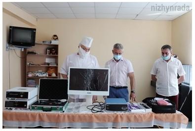 У пологовому будинку презентували нове медичне обладнання