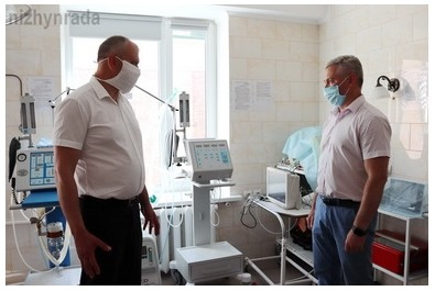 Міський голова оглянув нове медичне обладнання в міськлікарні