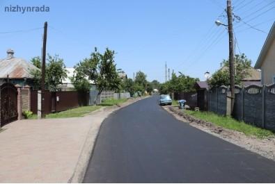 По вулиці Короленка провели капітальний ремонт дорожнього покриття