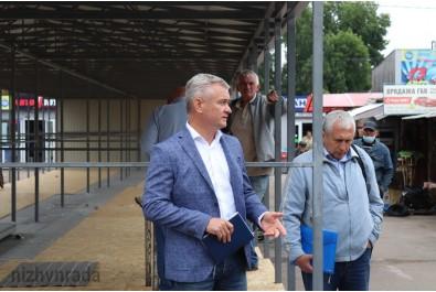 Міський голова зустрівся з підприємцями Комунального ринку