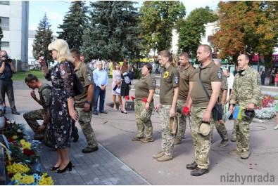 Ніжинці вшанували пам'ять загиблих захисників України