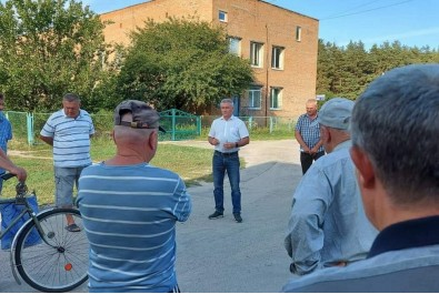 """Міський голова провів робочу зустріч з мешканцями мікрорайону """"Гуньки"""""""