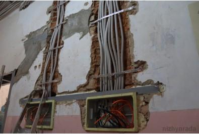 У міській лікарні продовжується реконструкція приймально-діагностичного відділення
