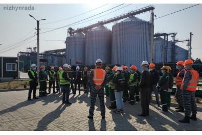 Міський голова провів зустріч із представниками зерноперорбних компаній