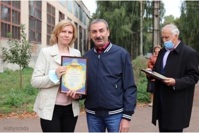 Колектив ТОВ «Ніжинський механічний завод» привітали з Днем машинобудівника