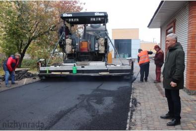В місті продовжують реалізовувати проекти з капітальних ремонтів доріг