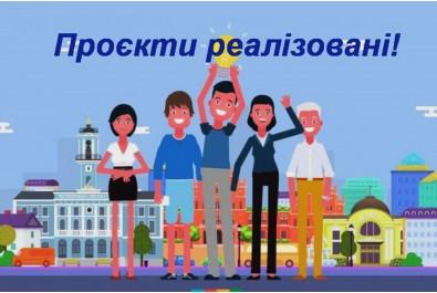 Реалізація Проектів громадського бюджету 2020 року