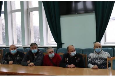 Учасників ліквідації наслідків аварії на Чорнобильській АЕС нагородили відзнаками виконавчого комітету Ніжинської міської ради «Герой Чорнобиля»