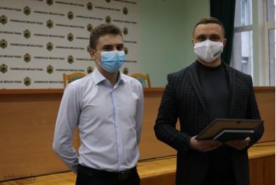 Олександр Кодола зустрівся з обдарованою студентською молоддю