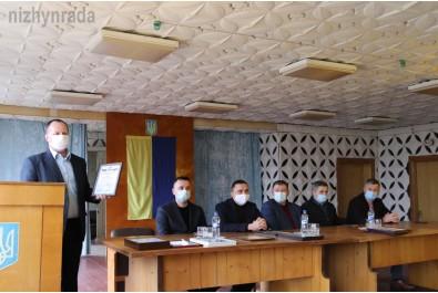 Олександр Кодола привітав колектив Ніжинського РЕМу з професійним святом
