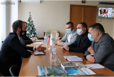 Міський голова Олександр Кодола провів зустріч з головою Української Асоціації енергосервісних компаній