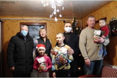 Міський голова Олександр Кодола привітав патронатні сім'ї з Новим Роком і Різдвом Христовим