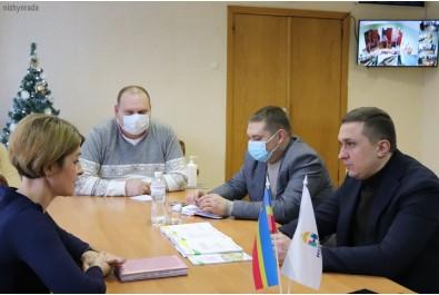 Олександр Кодола провів робочу зустріч із  координатором ПРООН в Чернігівській області Світланою Рожок