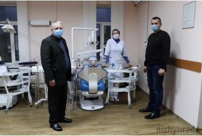 Стоматполіклініка отримала нове обладнання