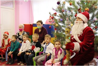 Новорічні свята провели для вихованців соціальних закладів