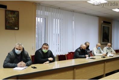Відбулася щотижнева нарада з керівниками комунальних підприємств