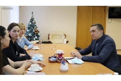 Олександр Кодола провів робочу зустріч з представницями Жіночого руху «За Майбутнє» в Україні
