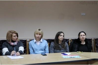 Відбулася зустріч жінок Ніжина з координаторкою Жіночого руху «За Майбутнє» в Україні Іриною Сусловою