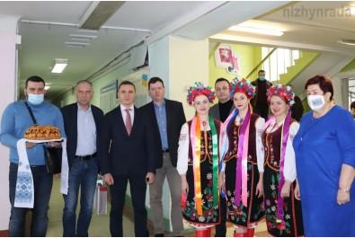 Міський голова Олександр Кодола зустрів делегацію з Латвії