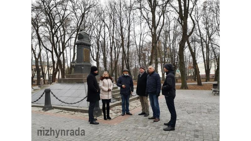 Для Латвійської делегації провели екскурсію містом