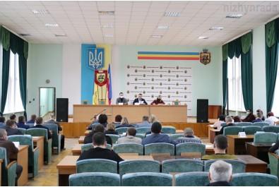 Відбулась позачергова 5 сесія Ніжинської міської ради