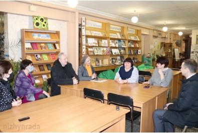 До Ніжина завітав Уповноважений із захисту державної мови Тарас Кремінь