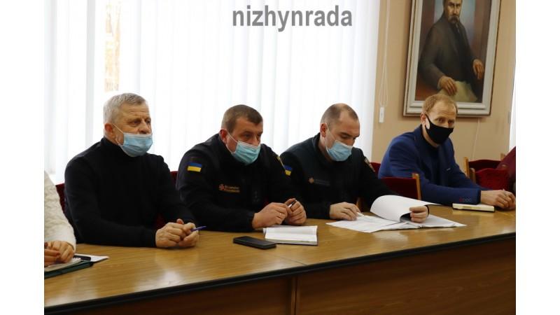 Відбулося засідання комісії з техногенно-екологічної безпеки та надзвичайних ситуацій