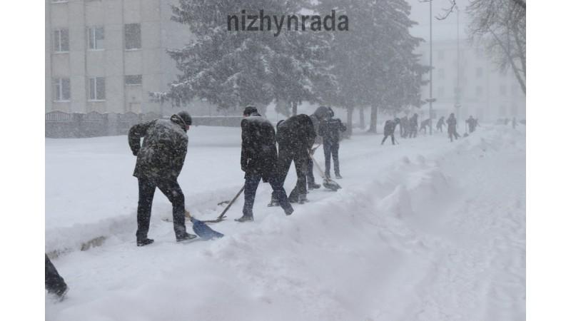 Загальноміська снігова толока в Ніжині