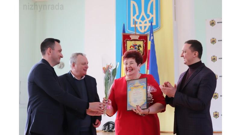 Жіночий актив Ніжина привітали з Міжнародним жіночим днем
