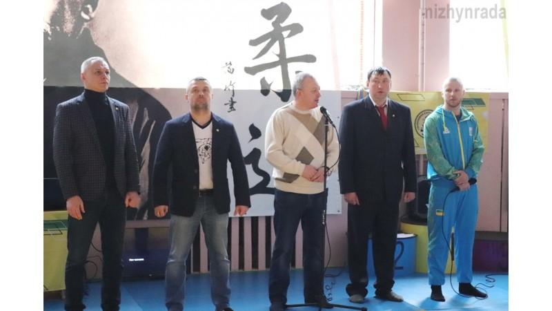 Відбувся чемпіонат Чернігівської області з дзюдо у Ніжині