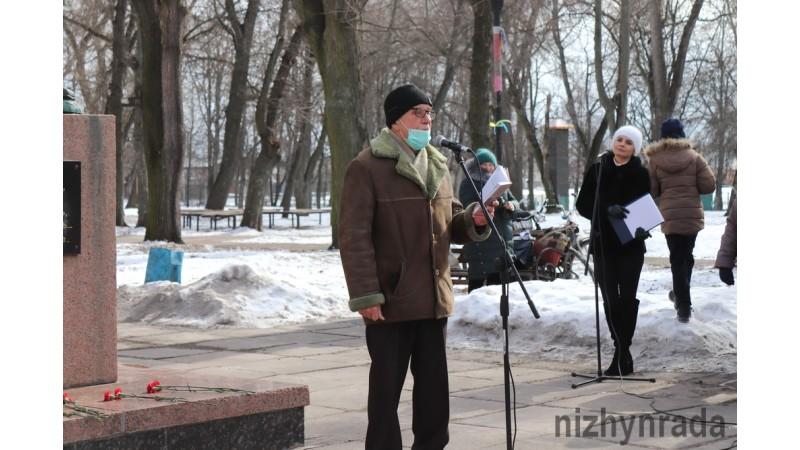 Відбувся мітинг та покладання квітів з нагоди 207-ї річниці від дня народження Т.Шевченка