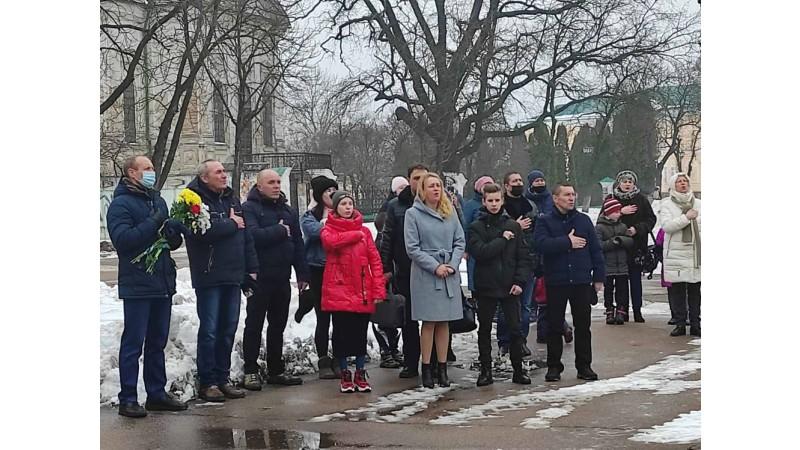 У Ніжині вшанували пам'ять добровольців
