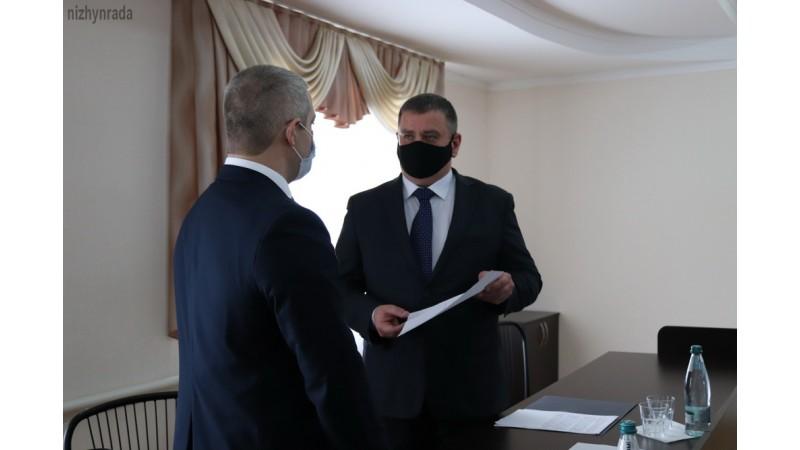 Призначили нового керівника Ніжинської окружної прокуратури
