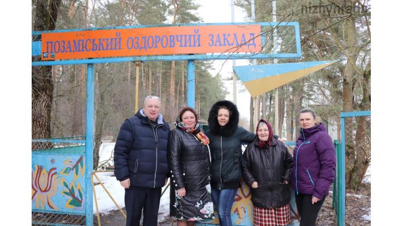 Здійснили робочий візит в позаміський оздоровчий табір імені Якова Батюка