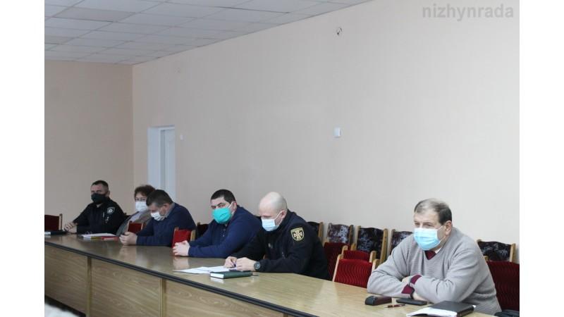 Засідання міської комісії з питань ТЕБ та НС