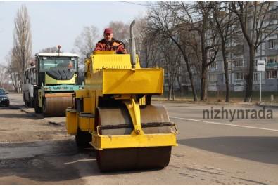 Розпочалися ремонтні роботи дорожнього покриття міста