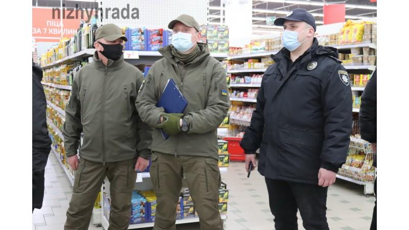 Міський голова Олександр Кодола провів спільний рейд з нацполіцією, держпродслужбою, муніципальною вартою щодо дотримання карантинних норм
