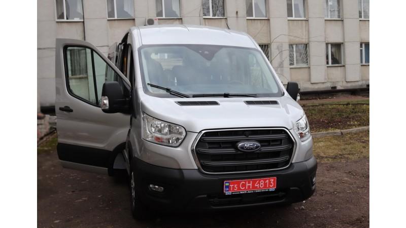 Придбали новий мікроавтобус Ford Transit