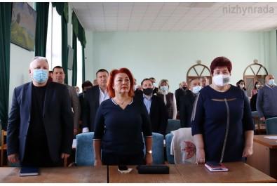 Відбулось чергове 9 засідання сесії Ніжинської міської  ради